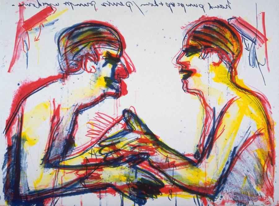 Untitled 1994 by Bruce Nauman born 1941