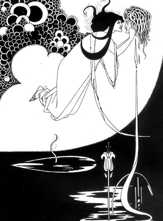 Aubrey Beardsley. Salomé