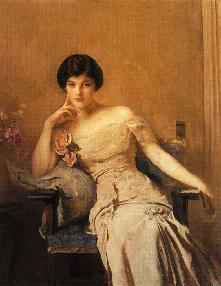 Edmund TARBELL Mrs. Lawrence 1912