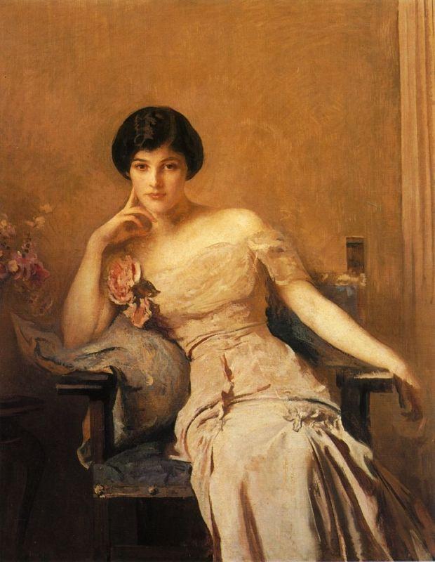 Edmund TARBELL Mrs. Lawrence 1912