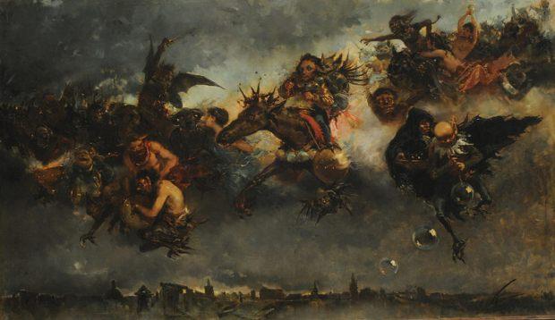 Mariano Barbasán Lagueruela - Walpurgisnacht, 1887