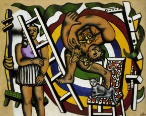 Fernand Léger, el acróbata y su asistente