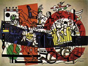 Fernand Léger, el gran desfile
