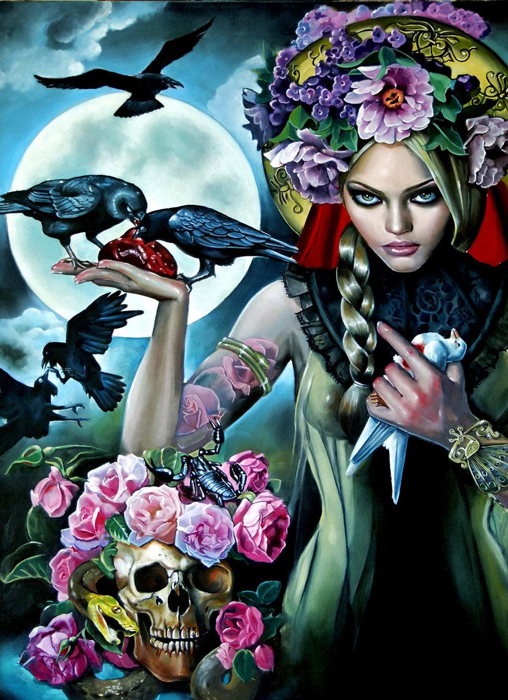 Italia Ángela Ruotolo. Madonna of the crows