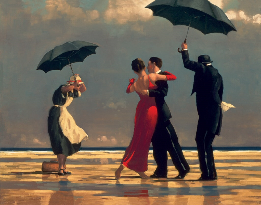 Jack Vettriano, el éxito en el arte
