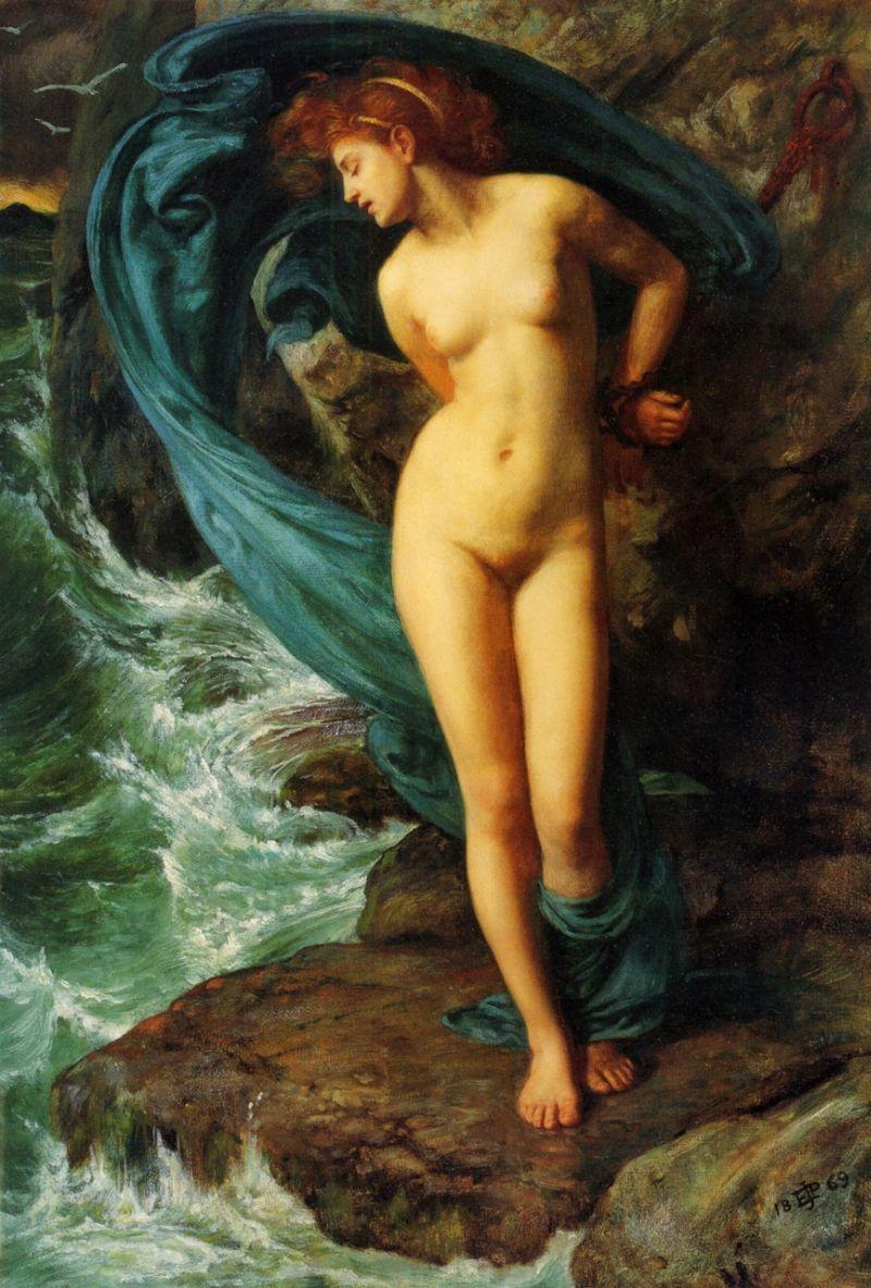 05-Andromeda, óleo sobre lienzo. Colección privada 2