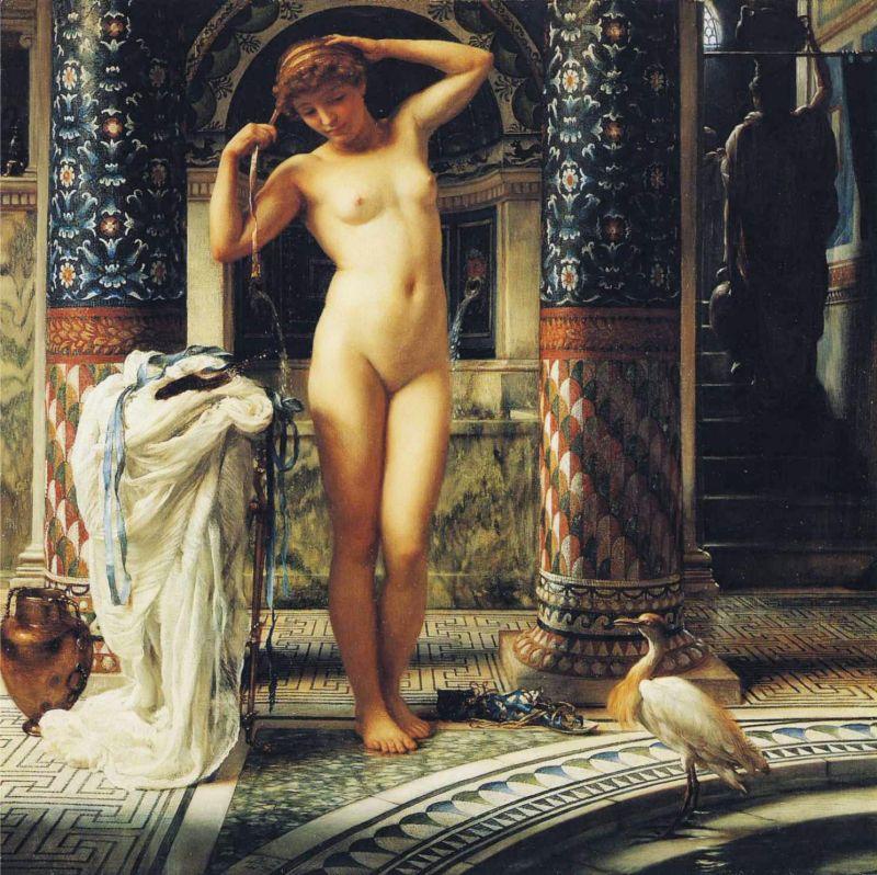 07-Diadumenè, óleo sobre lienzo, 20 x 20 in, 1883. Royal Albert Memorial Museum, Exeter