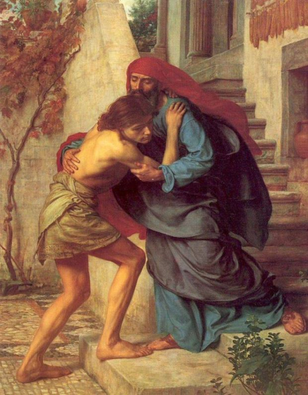13-The Return of the Prodigal Son, 1869