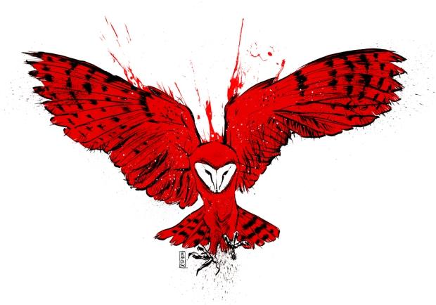Flying Owl 70x100