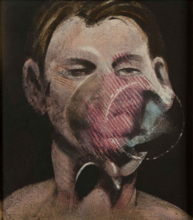 Francis Bacon - Studies for a portrait of peter beard 1