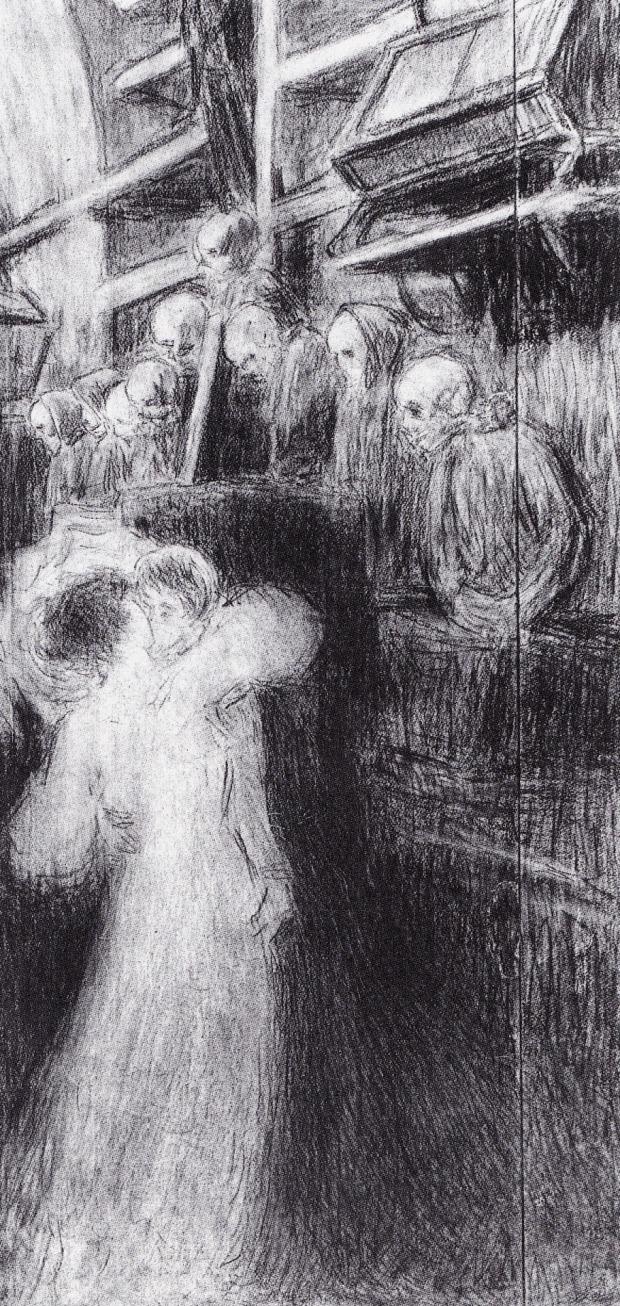 ergo-vivamus-1907-carboncino-e-matita