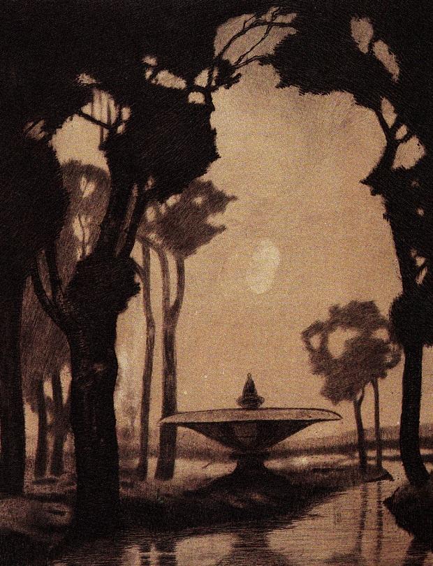 sonno-villa-romana-1916-acquaforte-e-puntasecca