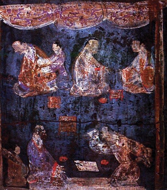 Mural-dinastia-Han-Oriental