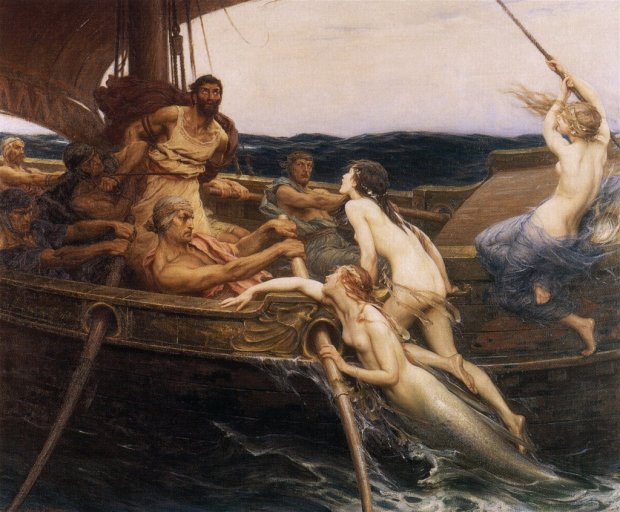 herbertjamesdraper-ulysses-and-the-sirens-1909